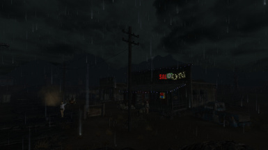 Enhanced shaders enb rainstorm in the middle of the day