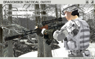 Dragonskin Tactical Outfit - Winter