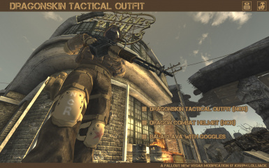 Dragonskin Tactical Outfit - NCR
