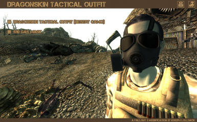 Dragonskin Tactical Outfit - Desert