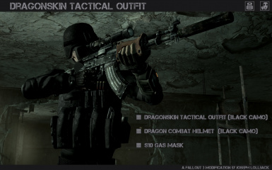 Dragonskin Tactical Outfit - Black