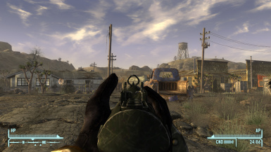 Fallout 3 Weapons Iron Sight -Modders Resource- V1dot3 at