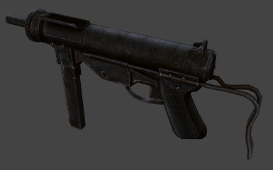9mm Submachine gun retextured at Fallout New Vegas - mods