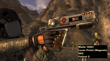 Classic Fallout Weapons - New Vegas at Fallout New Vegas