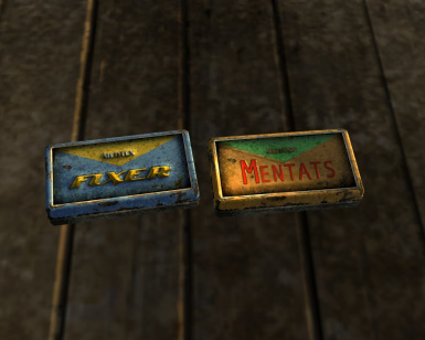 Fixer and Mentats Ingame