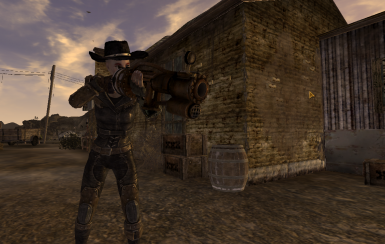 Railway Rifle at Fallout New Vegas - mods and community