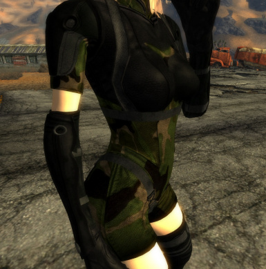 Camouflage Ghost Bodysuit Type 3
