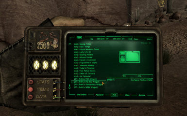 A Familiar Friend - Pip-Boy 2500 - Handheld Pipboy