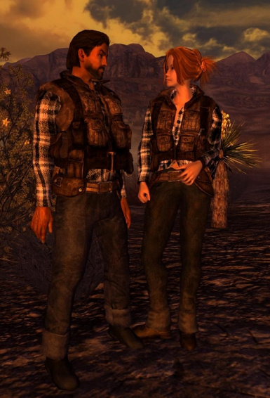 Mojave Scout Outfits for Type 3 and Breeze
