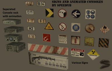 Signs Consoles