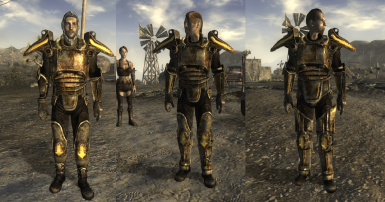tribal raider power armors at fallout new vegas mods and community