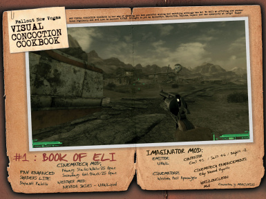 Visual Concoction Cookbook - BOOK OF ELI