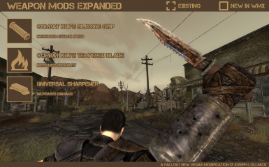 Weapon Mods Expanded - WMX at Fallout New Vegas - mods and