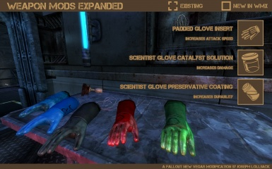 WMX-OWB - Scientist Gloves