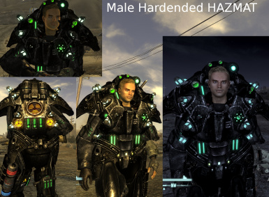 Male Hardened HAZMAT