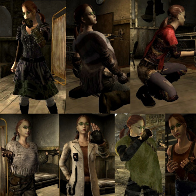 Some of the female variants