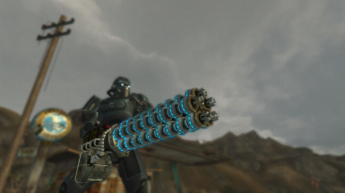 Gauss Minigun