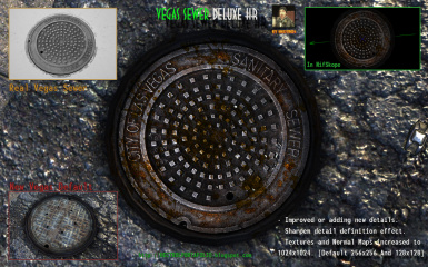 Hectrol Vegas Sewer Deluxe HighRes Retex