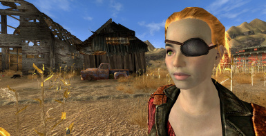 Female Caucasian - Eyepatch