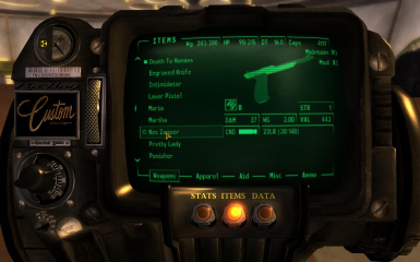 Zapper in pipboy