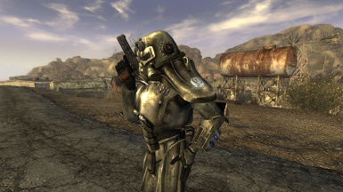 Female Power Armor Pack
