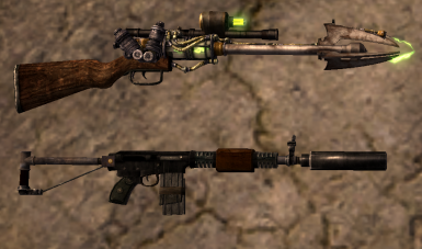 Homemade weapons pack at fallout new vegas mods and