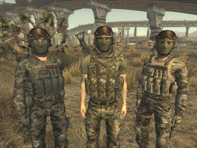 high desert tactical gear at fallout new vegas mods and community