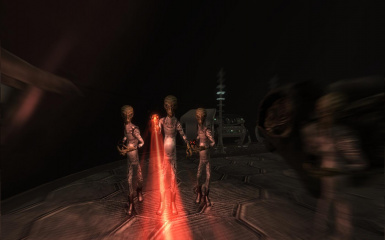 attacking aliens