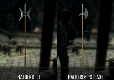 Beautiful Halberds 1_06 at Fallout New Vegas - mods and