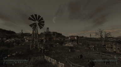 Goodsprings at 7pm New Version Of Mod