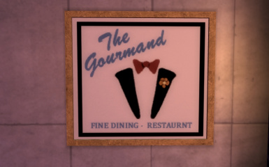 It says FINE dining