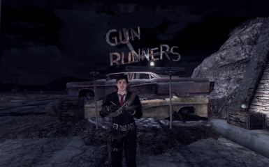 Gun Runners Sign