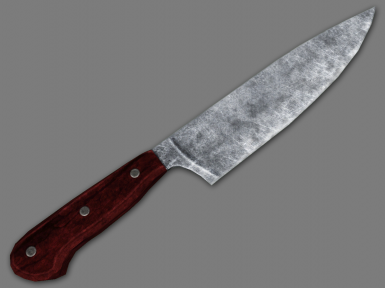 Knife Rendered