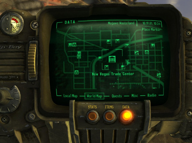 Location on Pipboy