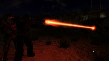 Laser Rifle beam