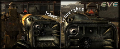 EVE 1-11 Tribeam IronSights