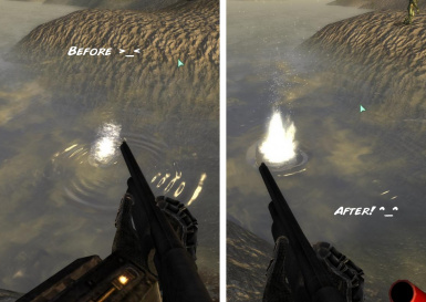 Bullet water Impact FX