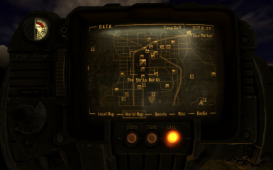 New Vegas Extended Map Markers at Fallout New Vegas - mods and community