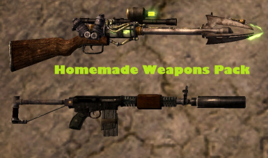 Homemade Weapons Pack
