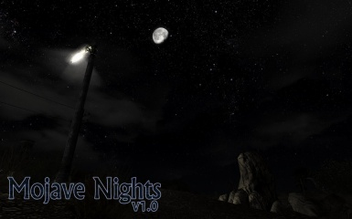 Mojave Nights - a moon and stars replacer