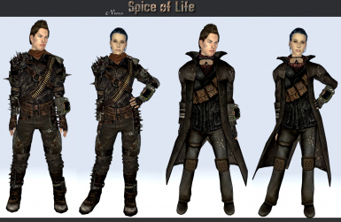 Spice of Life - Variety Armor and Clothing Robert Breeze