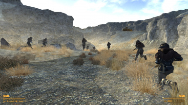 Advancing into the Quarry