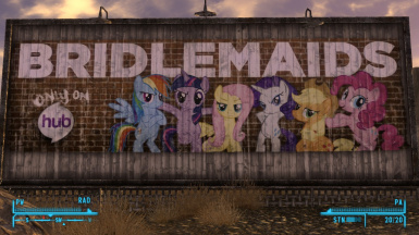 Screenshot of bridlemaids bilboard