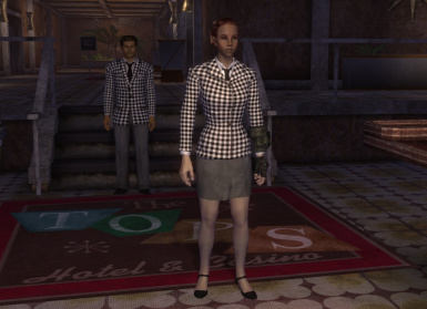 Female version of the suit