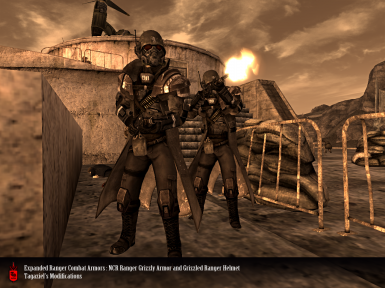 Expanded Ranger Combat Armors At Fallout New Vegas Mods And Community