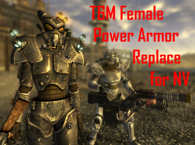 T6M Female Power Armor Replace NV