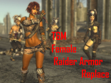 T6M Female Raider Armor Replace