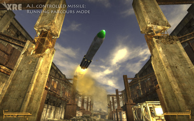 AI Controlled Missile - Parcours Mode