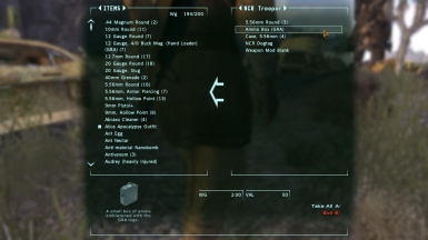 Gun Runners Arsenal GRA - The Right to Bear Arms at Fallout New
