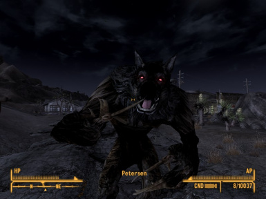 Petersen the Werewolf Companion